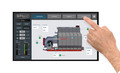 The Brock INTUI-DRY™ Control overview screen provides a continuously updated snapshot of dryer operation and performance.